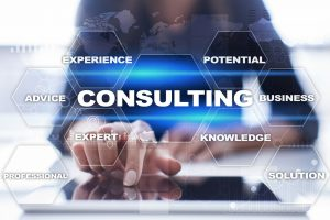 Who is a business consultant?