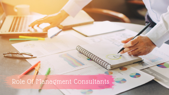 Role of Managment consultants