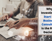 Why Investing in Start up Business Consultant is the Right Decision?